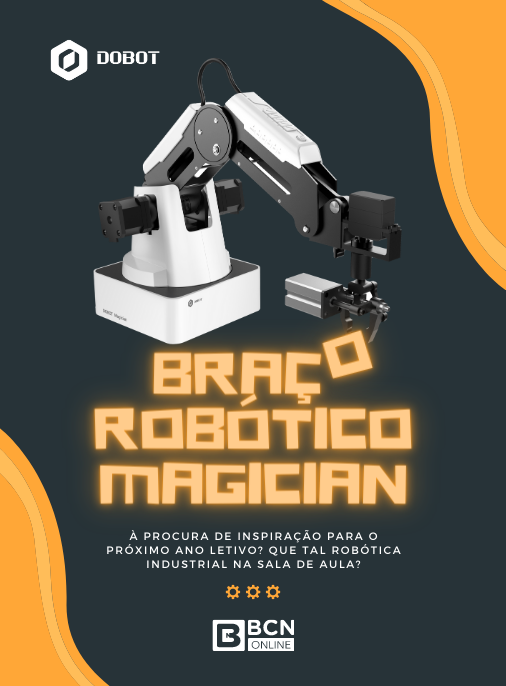 Banner Braço Robótico Dobot Magician