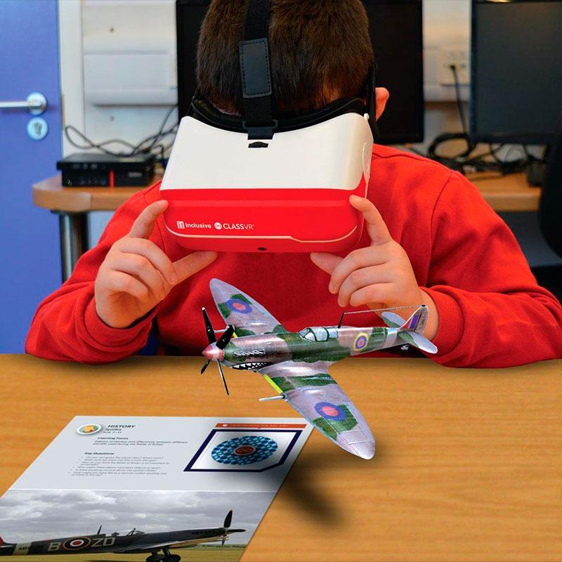 ClassVR - Kit 4 óculos - simulação