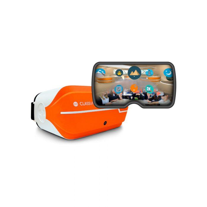 Óculos Realidade Virtual ClassVR - Simulação
