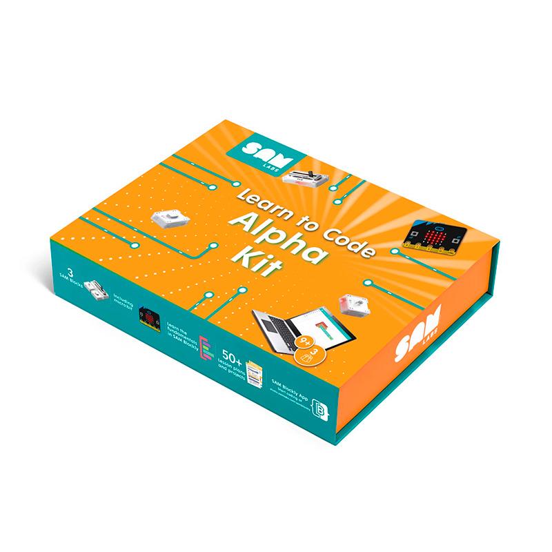 Learn to Code Alpha Kit - Caixa