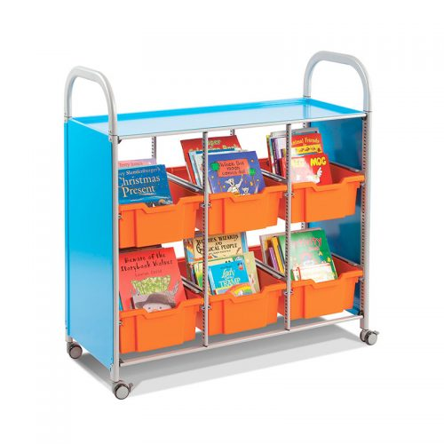 Callero Trolley de Biblioteca
