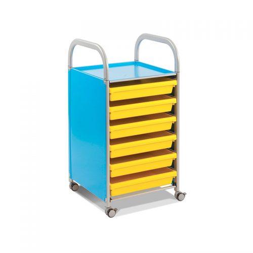 Callero Trolley Papel A3 Azul